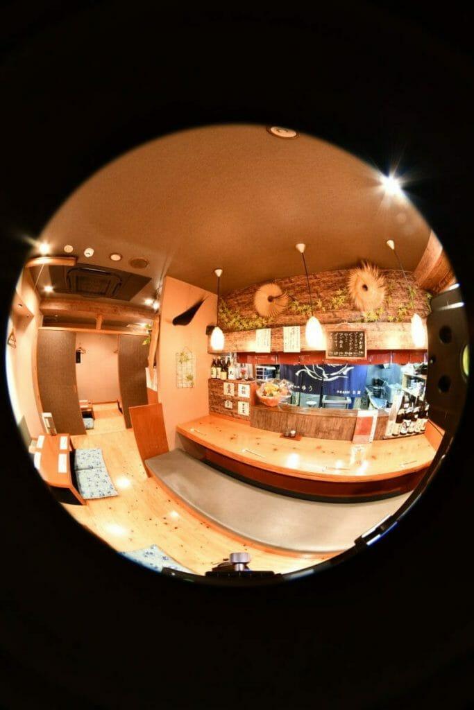 鯨・和処ゆう 360度パノラマ写真