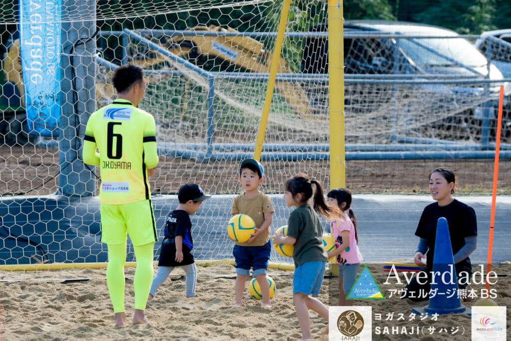 スポーツ・イベント出張写真撮影( @watanabeakr ACCY) ビーチサッカークリニック アヴェルダージ熊本ビーチサッカー エボレパーク EVOLEPARK BEACHFESTA アヴェルダージ熊本BS