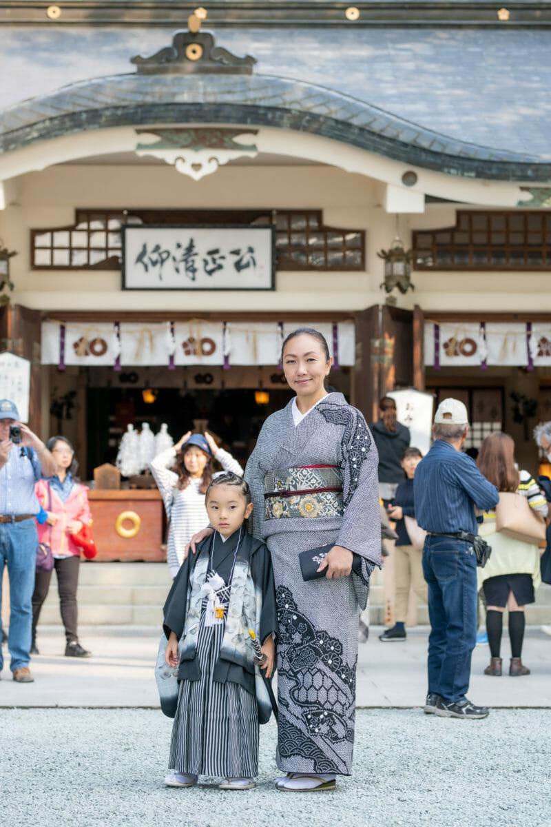 七五三 加藤神社にて半日貸し切りで写真撮影