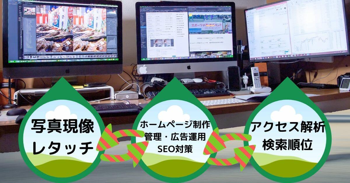 ホームページ作成/リニューアル