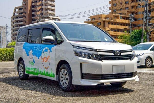 ホームページ・SNSの素材写真撮影 福祉タクシーつむぐ 熊本市南区